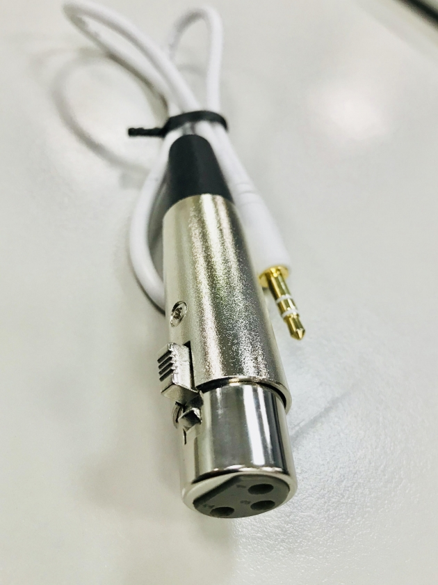 3.5mm to XLR cable 1