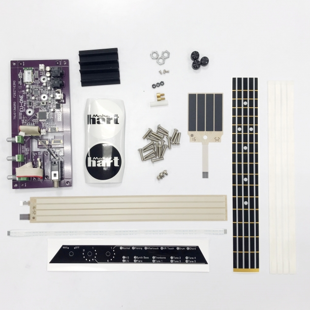 4 Strings Music Instrument DIY Set 1