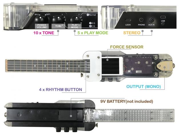 DU-ONE DIY Arduino 烏克麗麗套件 4