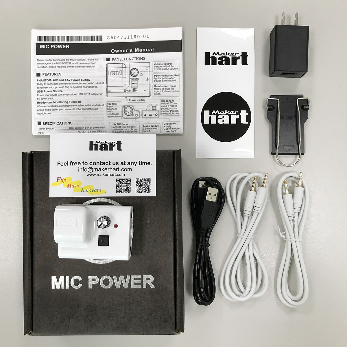 Just Mic Power Package